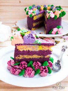 tort cu crema si bezea elvetiana
