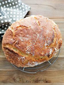 cum se face pâine fără frământare, rețete de pâine
